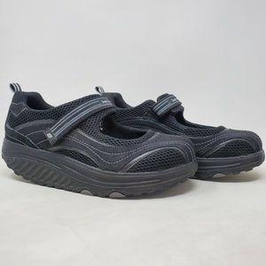 Skechers Mary Jane Strap Shape Ups Toning Shoes 10
